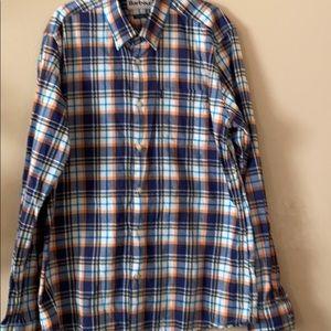 Barbour button down shirt
